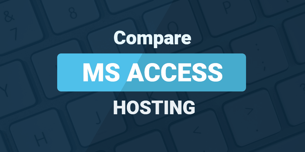 Usporedite MS Access hosting